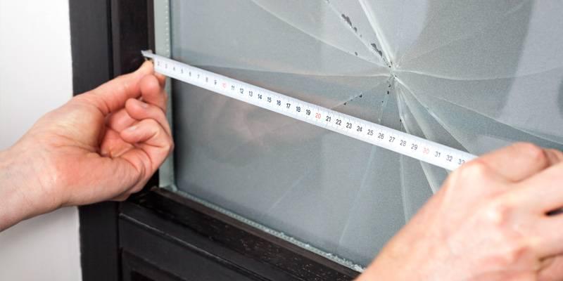 stylish glass window