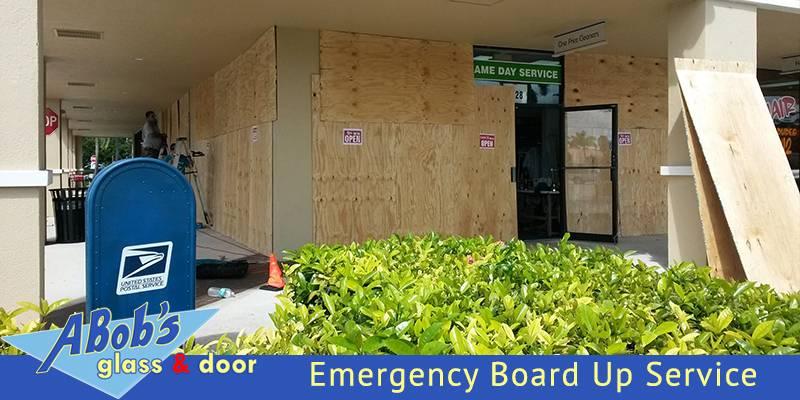 Emergency Board Up